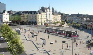 Transport cercle dijon bourgogne - Piscine contemporaine lyon mulhouse ...