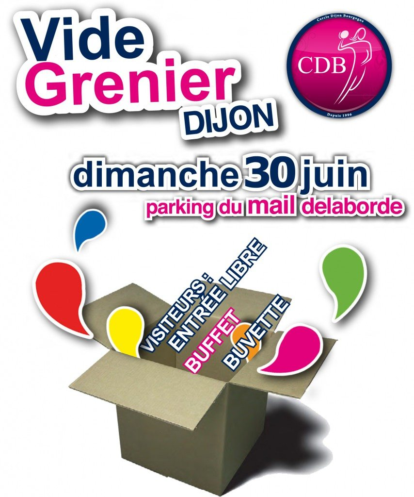 vide grenier annule cercle dijon bourgogne. Black Bedroom Furniture Sets. Home Design Ideas